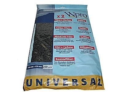 Kohlefilter für alle gängigen dunstabzugshauben im