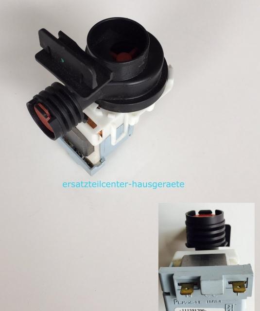 pumpe ablaufpumpe laugenpumpe f r sp lmaschine ersatzteilcenter. Black Bedroom Furniture Sets. Home Design Ideas